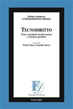 Copertina dell'audiolibro Tecnodiritto: temi e problemi di informatica e robotica giuridica di MORO, Paolo - SARRA, Claudio