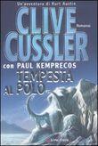 Copertina dell'audiolibro Tempesta al Polo di CUSSLER, Clive