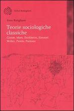 Copertina dell'audiolibro Teorie sociologiche classiche di RUTIGLIANO, Enzo