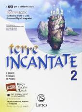 Copertina dell'audiolibro Terre incantate 2 – Antologia di LAVAZZA, E. - BISSACA, R. - PAOLELLA, M.