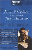 Copertina dell'audiolibro Teste in fermento di CECHOV, Anton