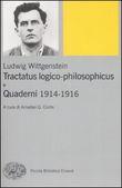 Copertina dell'audiolibro Tractatus logico-philosophicus e quaderni 1914-1916 di WITTGENSTEIN, Ludwig