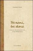 Copertina dell'audiolibro Tre nomi tre storie. Il racconto della salvezza di tre ebrei in fuga nell'Italia fascista