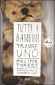 Copertina dell'audiolibro Tutti i bambini tranne uno di FOREST, Philippe