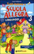 Copertina dell'audiolibro Tutti insieme a scuola allegra. 3: Linguaggi