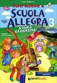 Copertina dell'audiolibro Tutti insieme a scuola allegra. 3: Storia e geografia di VALDISERRA, Laura