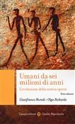 Copertina dell'audiolibro Umani da sei milioni di anni di BIONDI, Gianfranco - RICKARDS, Olga