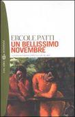 Copertina dell'audiolibro Un bellissimo novembre di PATTI, Ercole
