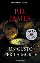 Copertina dell'audiolibro Un gusto per la morte di JAMES, Phyllis Dorothy
