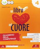 Copertina dell'audiolibro Un libro nel cuore 4 – Quaderno delle competenze di FORTUNATO, Francesca