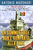 Copertina dell'audiolibro Un sommergibile non è rientrato alla base di MARONARI, Antonio