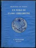 Copertina dell'audiolibro Un volo di 55.000 chilometri di DE PINEDO, Francesco