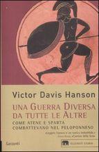 Copertina dell'audiolibro Una guerra diversa da tutte le altre di HANSON, Victor Davis