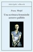 Copertina dell'audiolibro Una scrittura femminile azzurro pallido