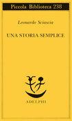 Copertina dell'audiolibro Una storia semplice di SCIASCIA, Leonardo