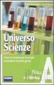 Copertina dell'audiolibro Universo scienze A di FLACCAVENTO, Gilda - ROMANO, Nunzio