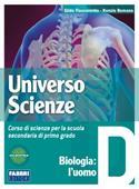 Copertina dell'audiolibro Universo scienze D di FLACCAVENTO, Gilda - ROMANO, Nunzio