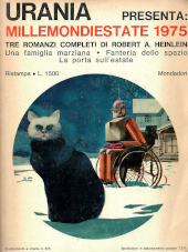 Copertina dell'audiolibro Urania presenta. Millemondiestate 1975 di HEINLEIN, Robert A.