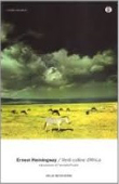 Copertina dell'audiolibro Verdi colline d'Africa
