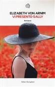 Copertina dell'audiolibro Vi presento Sally di VON ARNIM, Elisabeth