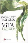 Copertina dell'audiolibro Vita liquida di BAUMAN, Zygmunt