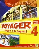 Copertina dell'audiolibro Voyager 4 – storia geografia di BORDIN, L. - GUZZO, E. - LUISE, L.