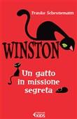 Copertina dell'audiolibro Winston un gatto in missione