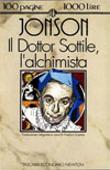Copertina Il Dottor Sottile, l'alchimista