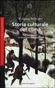 Copertina Storia culturale del clima