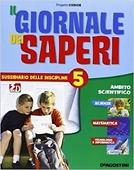 Copertina Il giornale dei saperi – 5 sussidiario