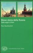 Copertina Breve storia della Russia: dalle origini a Putin