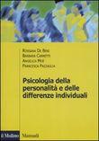 Copertina Psicologia della personalità e delle differenze individuali