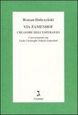 Copertina Via Zamenhof creatore dell'Esperanto (Esperanto)