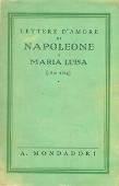 Copertina Lettere d'amore di Napoleone a Maria Luisa (1810-1814)