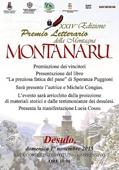 """Copertina Premio letteraio della montagna """"Montanaru"""""""