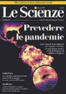 Copertina Le scienze Marzo 2018