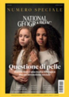 Copertina National Geographic Aprile 2018