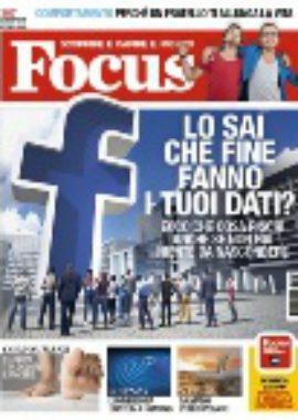 Copertina Focus Maggio 2018