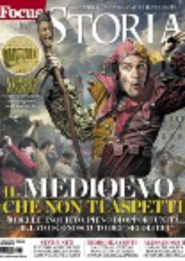 Copertina Focus Storia Maggio 2018