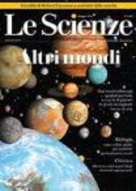 Copertina Le Scienze Maggio 2018