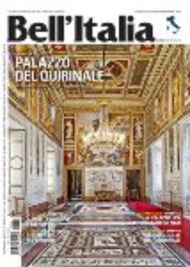 Copertina Bell'Italia Maggio 2018