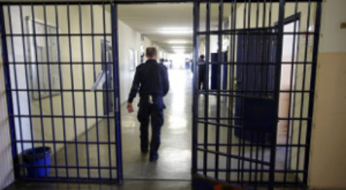 Un'immagine del carcere della Dozza, dove sei detenute a breve cominceranno a registrare gli audiolibri per i non vedenti