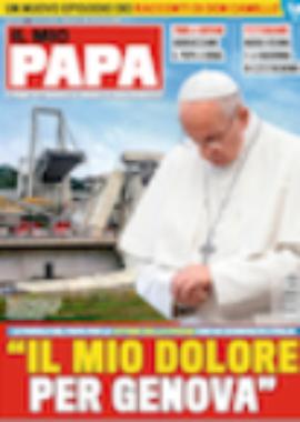 Copertina Il mio  papa 35-2018