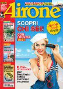 Copertina Airone Agosto 2018