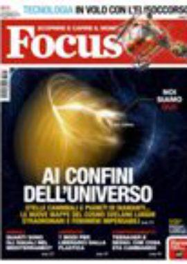 Copertina Focus Settembre 2018