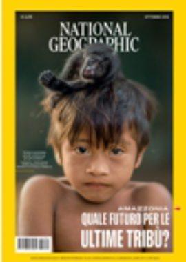 Copertina National Geographic Ottobre 2018