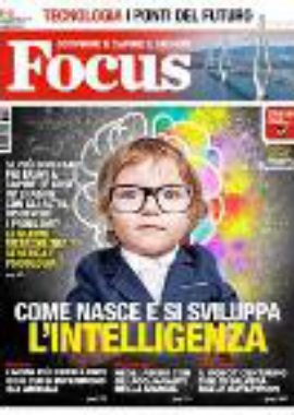 Copertina Focus Ottobre 2018