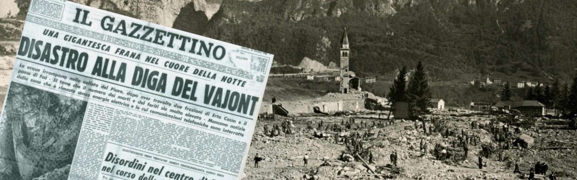 9 Ottobre 1963 – Il disastro del Vajont