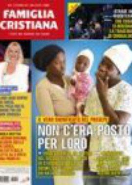 Copertina Famiglia Cristiana 50-2018
