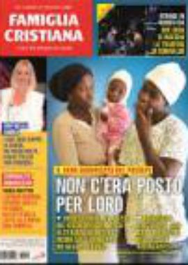 Copertina Famiglia Cristiana 2-2019